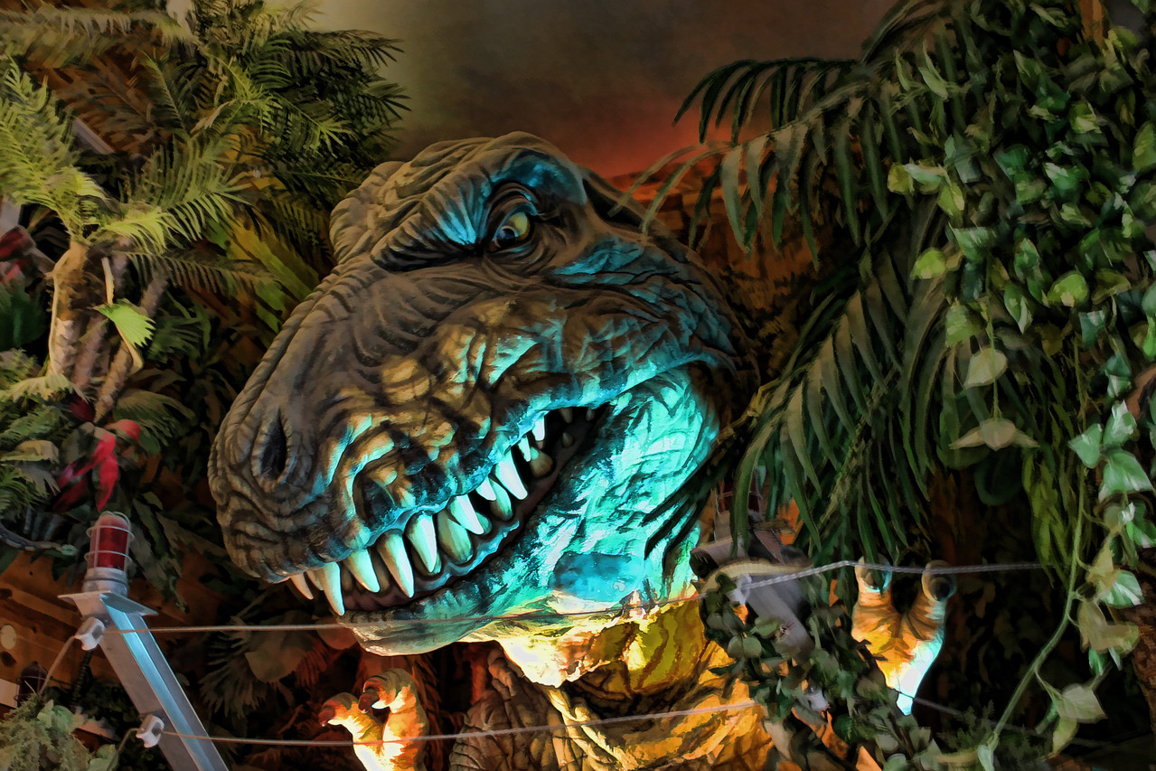 """T- Rex at Wall Drugstore, SD<br /> <br />  <a href=""""http://www.walldrug.com/"""">http://www.walldrug.com/</a>"""