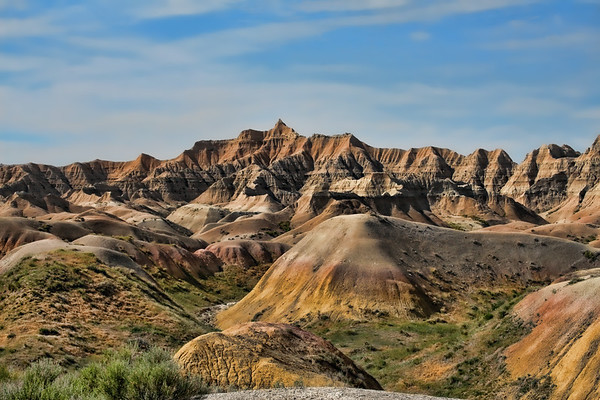 Badlands National Park, South Dakota  http://www.nps.gov/badl