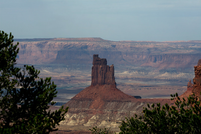 Candlestick Tower, Canyonlands NP, Island in the Sky, Moab, Utah
