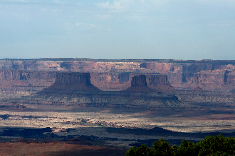 Shadows in the canyon, Canyonlands NP, Island in the Sky, Moab, Utah
