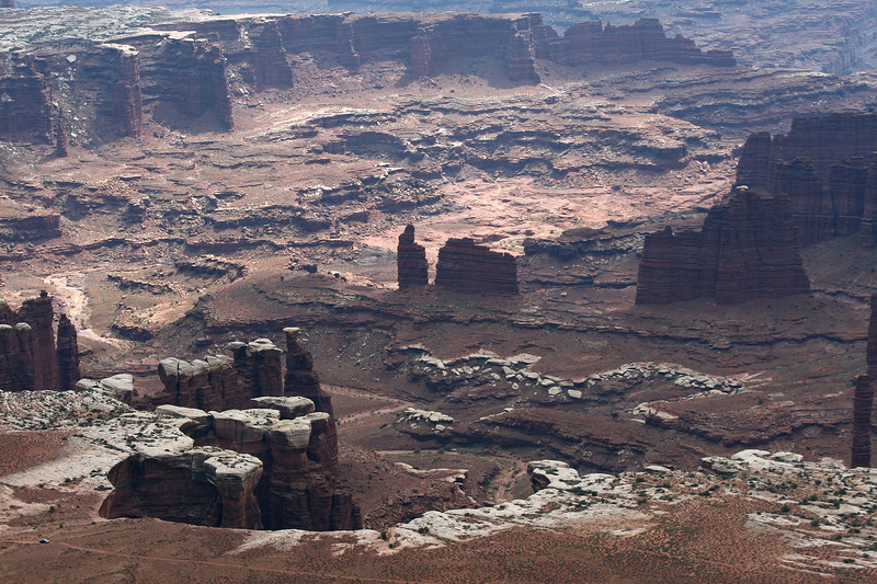 Monument Basin, Island in the Sky, Canyonlands Np, Moab, Utah