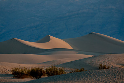 Mesquite Flat Sand Dunes , Death Valley National Park, CA, NV