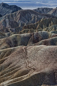 Zabriskie Point, Death Valley National Park, ca,nv