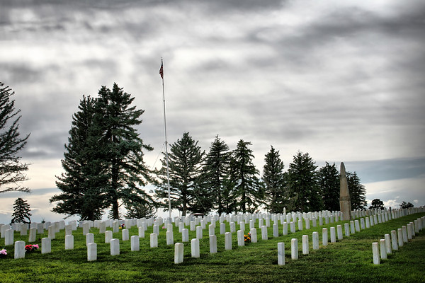 Little Big Horn National Cemetery, Montana