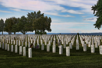 Little Bighorn Battle National Monument and Cemetery, Montana