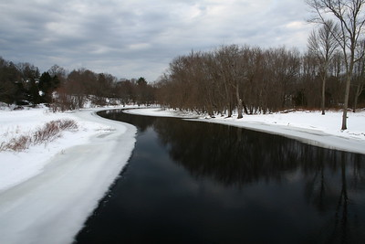 The Concord River at Minuteman National Park, Concord, MA