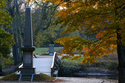 Old North Bridge, Minute Man National Historical Park, Concord, Ma