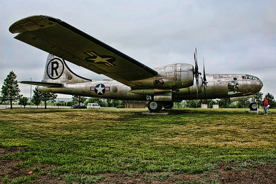a B-29 at the South Dakota Air and Space Museum.  http://www.sdairandspacemuseum.com