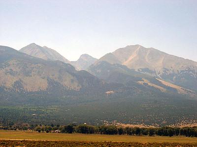 More Sangre de Christo mountains