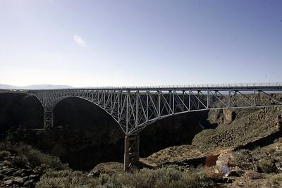 Bridge over the Rio Grande (photo by Dave)