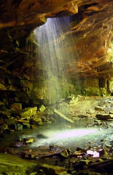 Glory Hole waterfall hike