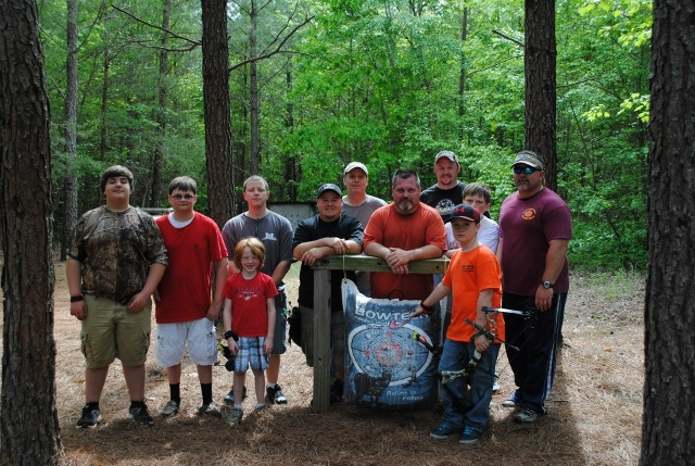 CTO Straight Shooters at the South Mountain Archery Club 3D shoot.