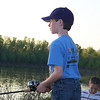 Brady Trammell fishing In Red River