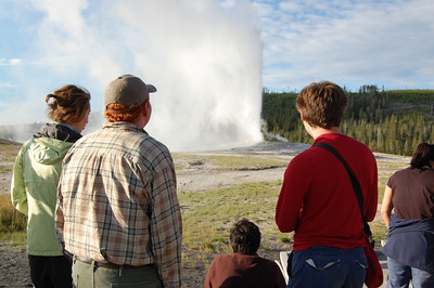Rockies researchers watching Old Faithful