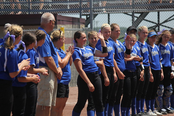 State softball Game 2 vs. Benton Comminity