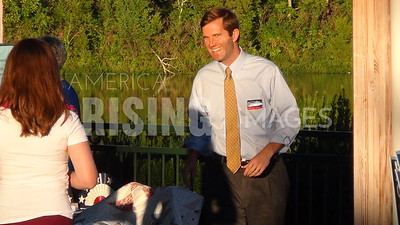 Andy Beshear At The Gibson Bay Annual Picnic At Gibson Bay In Richmond, KY
