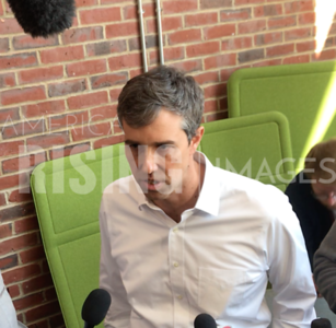 Beto O'Rourke at Campaign Rally in Plymouth, NH