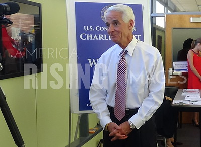 Charlie Crist At Access To Capital Fair In St. Petersburg, FL