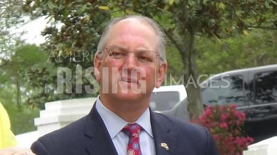 John Bel Edwards speaks at Lemonade Day in Baton Rouge, LA