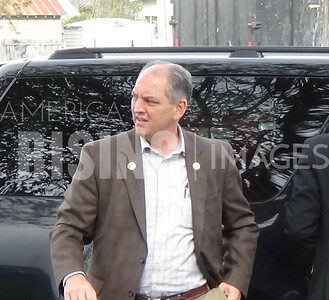 John Bel Edwards at Meet & Greet Hosted by IWO New Orleans in New Orleans, LA