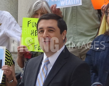 Josh Kaul At Healthcare Press Conference In Milwaukee, WI
