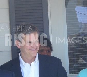 Josh Stein At Harnet County Democrats Headquarters Opening In Lillington, NC