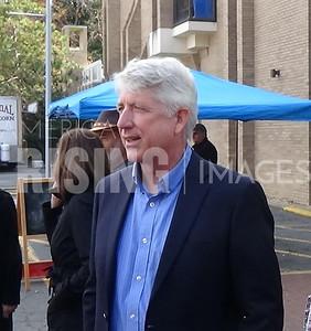 Mark Herring  attends The Reston Farmers Market - Reston, VA