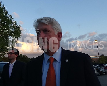 Mark Herring attends a fundraiser at the Wagner Macula and Retina Center - Virginia Beach, VA