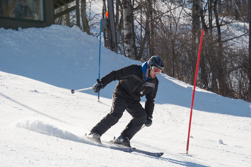 Alpine Skiing Competition at Swain Resort. February 7, 2016.