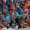 The 4th annual Oswego Polar Plunge. Wright's Landing, Oswego. April 9, 2016.