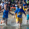 Lake George Polar Plunge at Shepard's Park Beach. Lake George, NY. November 19, 2016.