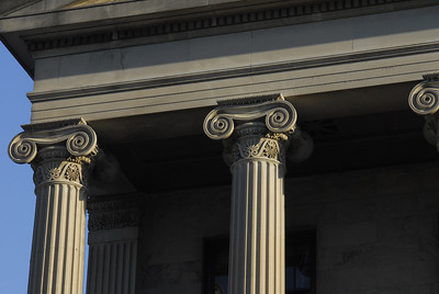 Tennessee State Capitol Columns