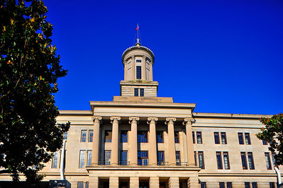 Tennessee State Capitol East Side