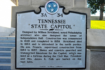 Tennessee State Capitol Historical Marker