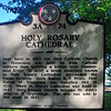 Tennessee State Capitol Holy Rosary Cathedral Historical Plaque