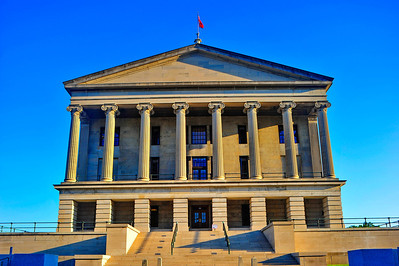 Tennessee State Capitol South view