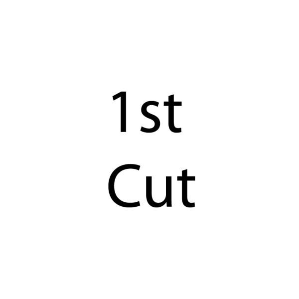 1st cut