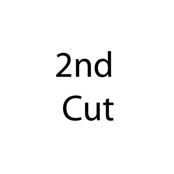 2nd cut