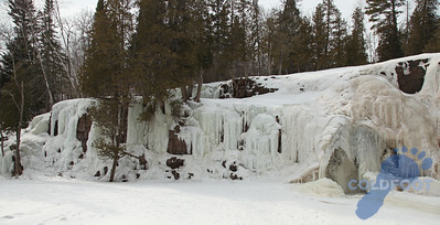 Gooseberry Falls State Park Winter 2011