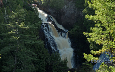 165 Foot Big Manitou Falls At Pattison State Park