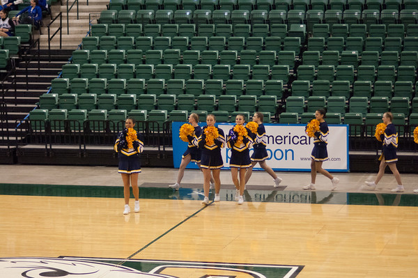 State Poms at EMU
