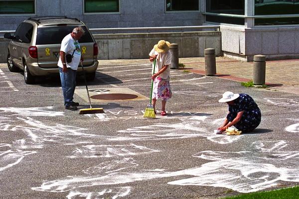 05.08.09 Hiroshima/Nagasaki Shadow Project at State House