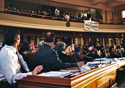06.04.11 Hillary Lister arrested in House of Representatives