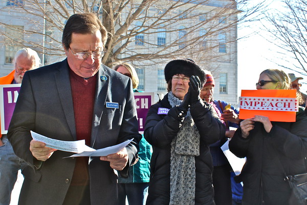 16.01.06 Rally to Push for the Impeachment of Governor Paul LePage at State House