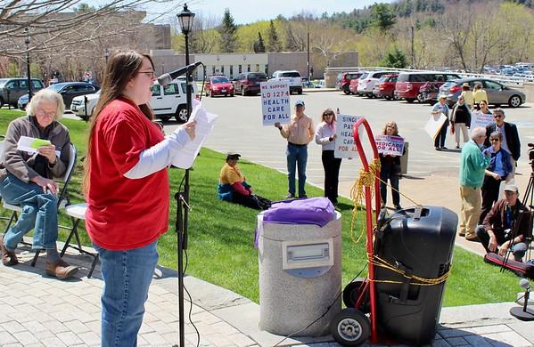 17.05.04 Maine Health Care Rally