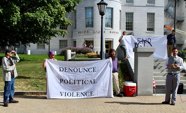 17.09.30 Maine Rally to Denounce Political Violence