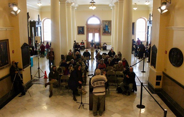18.01.03 6th annual Alliance For The Common Good Rally of Unity at the Statehouse Hall of Flags