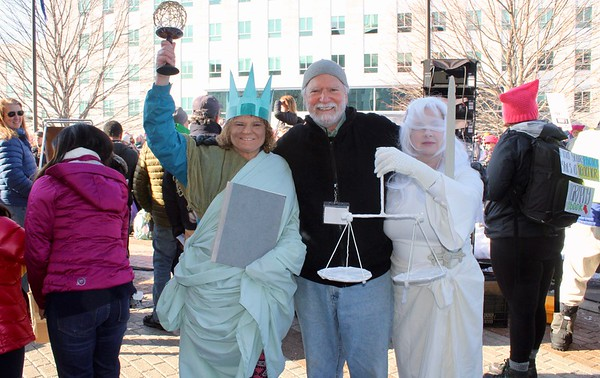 18.01.20 Women's March on Augusta: Power to the Polls