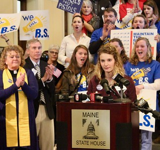 18.03.01 Maine Gun Safety Coalition and Moms Demand Action Rally at State House