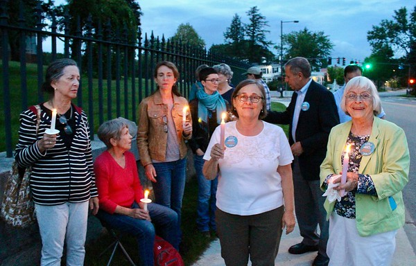 19.07.12 Lights for Liberty: A Nationwide Vigil to End Human Detention Camps at State House in Augusta
